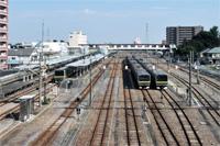 高崎線の始発、終点駅 籠原駅