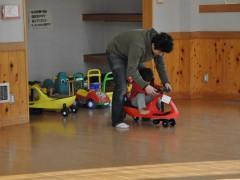 境児童館どんぐり 結構激しく遊べるエリア