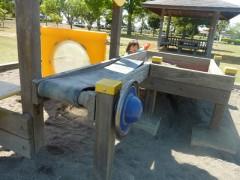境児童館どんぐり 砂場