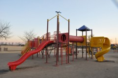 境児童館どんぐり 遊具広場